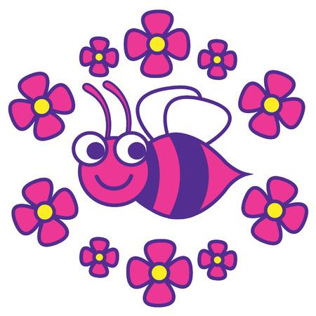 pollinate: Beautiful Bee