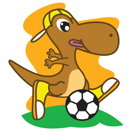 Dinosaur Football