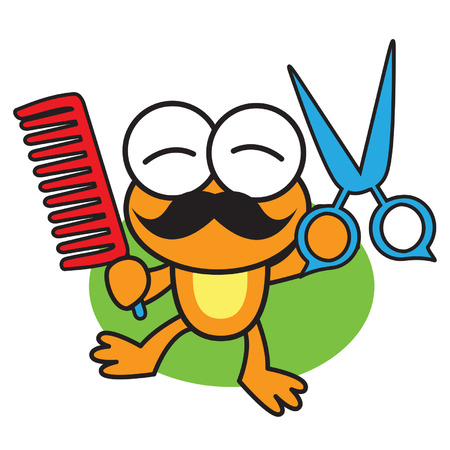 pounce: Barber Frog