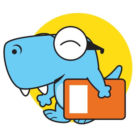 bring: Dinosaur bring book