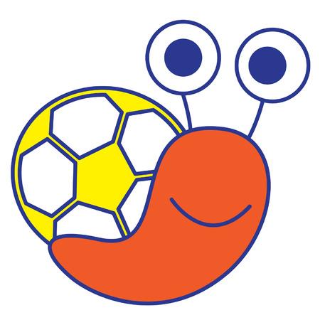 Soccer Snail