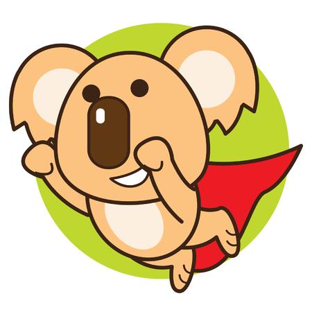 Super Koala Ilustração