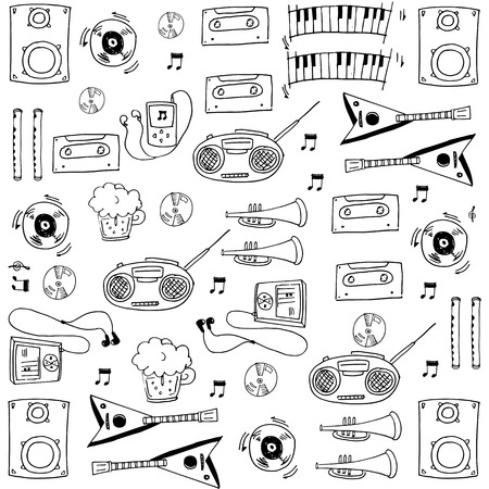 Object music tool in doodles