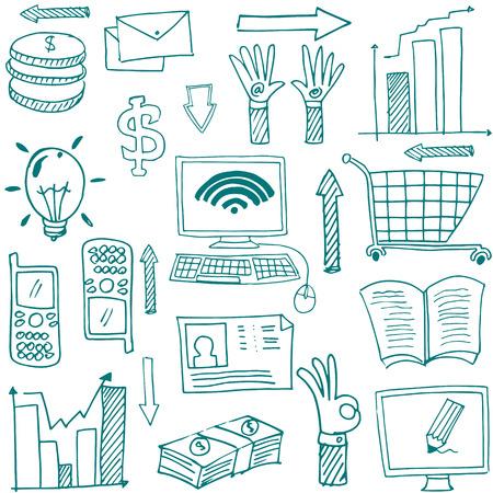 Doodle van de afbeelding zakelijke thema Stockfoto - 61331082