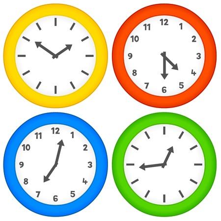 Multicoloured vector clocks