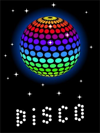 Rainbow Discoball