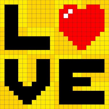 8bit: 8-bit pixel-art manifesto amore