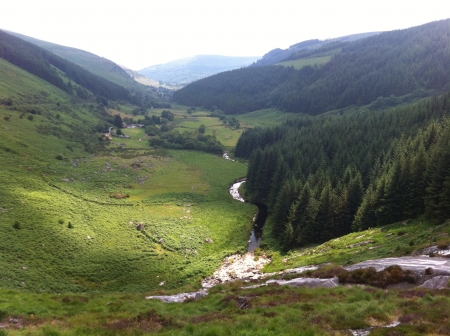 The Wicklow Mountains   Stock Photo