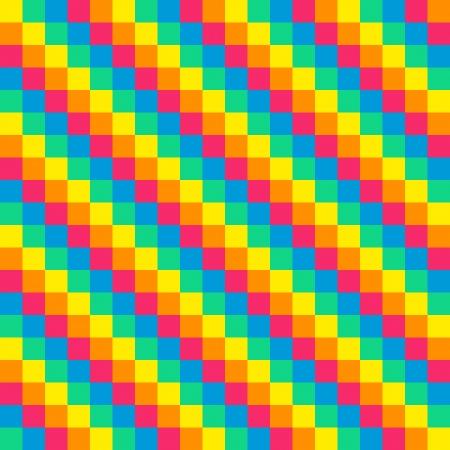 8-bit seamless diagonal rainbow background Illustration