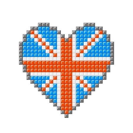 16 Coeurs De Differents Modeles Dans Un Style Pixel Art 8 Bit Clip Art Libres De Droits Vecteurs Et Illustration Image 27463834