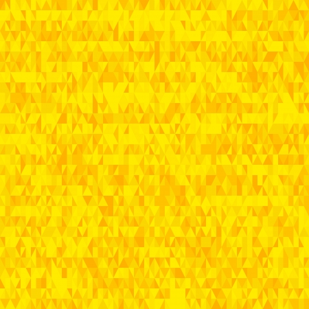A seamless grid of golden yellow triangles