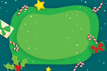 gift and candy christmas card
