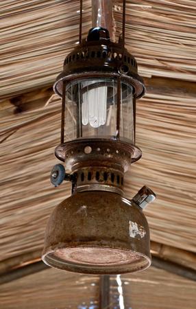 hurricane lamp: hurricane lamp More lighting oil lamps When fully bright light similar to fluorescent light Stock Photo