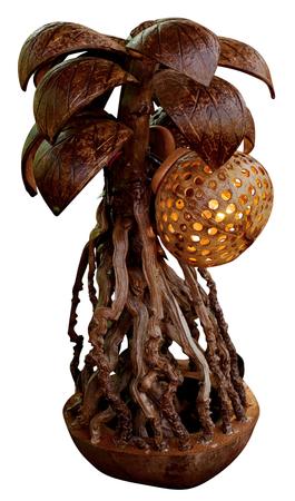 penetracion: L�mpara el�ctrica local a partir de c�scaras de coco