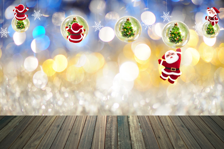 festive: Christmas with festive decoration Stock Photo