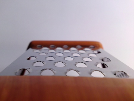 grater: Grater close-up