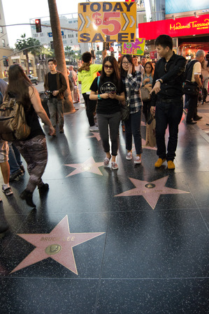 north hollywood: Walk of Fame Editorial