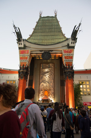 north hollywood: Chinese theater Editorial