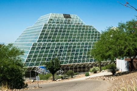 colonization: The huge glass greenhouse near Tucson used to study the potential for space colonization