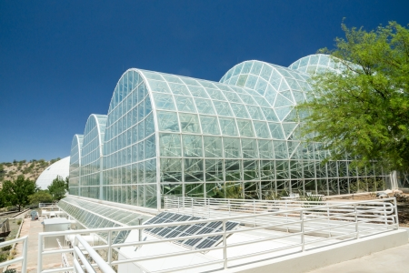 colonization: The unique modern architecture at the controversial  Biosphere 2 facility used to study the prospects for space colonization