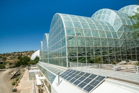 colonisation: L'architettura moderna unica al controverso impianto Biosfera 2 utilizzati per studiare le prospettive di colonizzazione dello spazio Editoriali