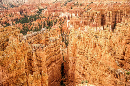spellbinding: Nature puts on a spellbinding display of geological forces at magnificent Bryce Canyon N.P. in Utah.