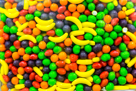 Colorful Candy Treats & Sweets Stock Photo