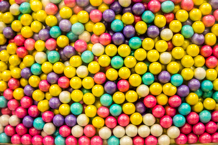 Candy Drops in All Flavors Stock Photo