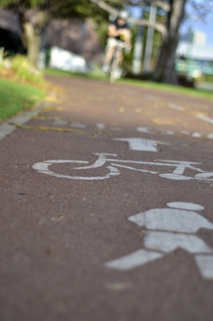 bicycle lane: Bicycle lane