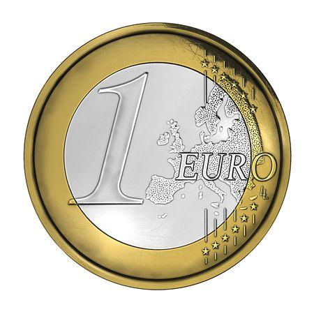 cgi: High detailed coin CGI