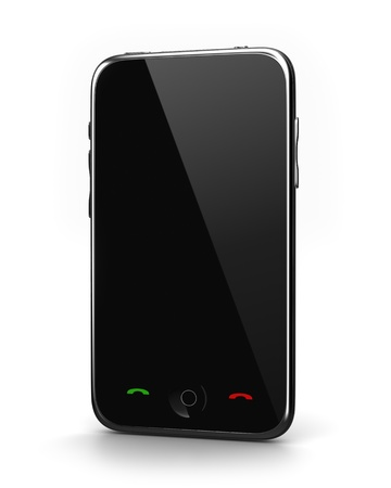 Touch screen Phone Stock Photo - 9090672