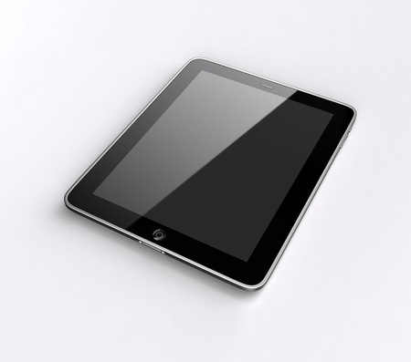 blank tablet: Tablet computer input device Stock Photo