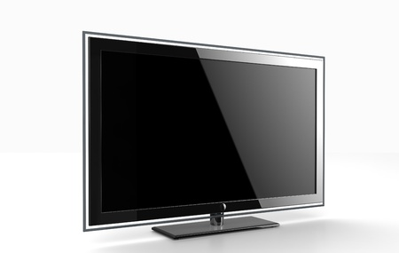 hdtv: Flat HDTV screen