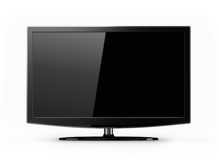 Plasma TV - blank screen Stock Photo - 9609271
