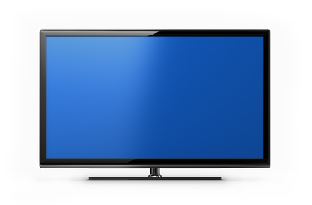 lcd tv: Modern TV screen