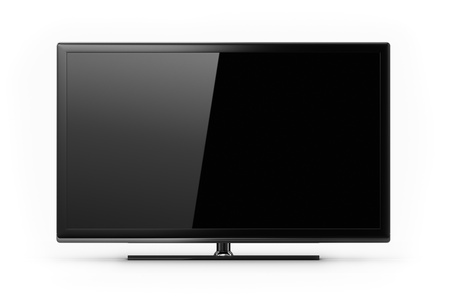 lcd tv: Blank LED HD TV screen