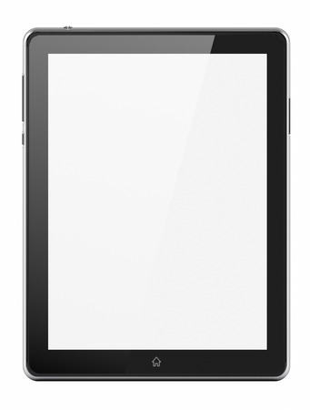 Custom tablet with blank screen Фото со стока