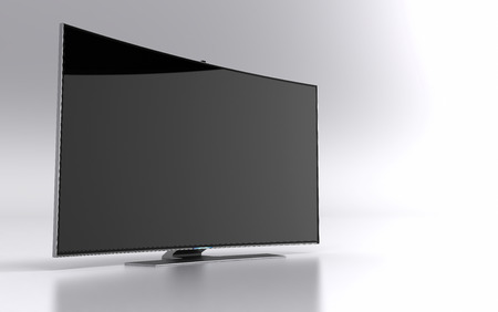 flat screen tv: High-end curved smart led tv