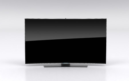 tv screen: High-end curved smart led tv