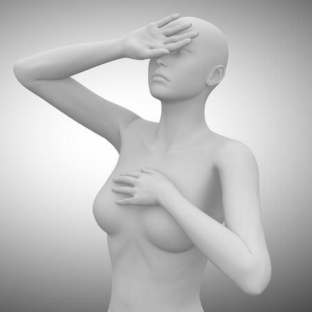 Kopfschmerz Standard-Bild - 63181655