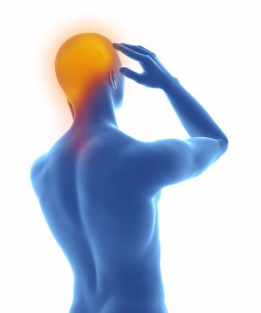 Kopfschmerz Standard-Bild - 63181656