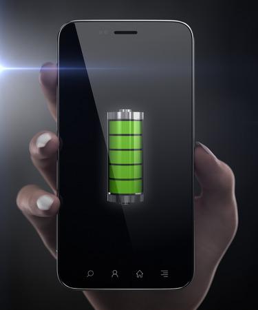 Volle Batterie Standard-Bild - 63181657