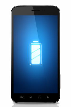 Concept de batterie de téléphone portable Banque d'images - 38668001