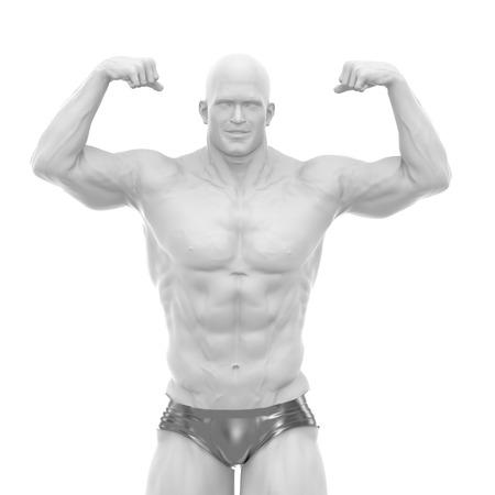 Body-Building-Konzept Standard-Bild - 54729058