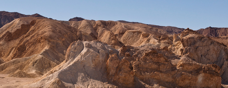 A rock formation in the desert in southern California Stock Photo