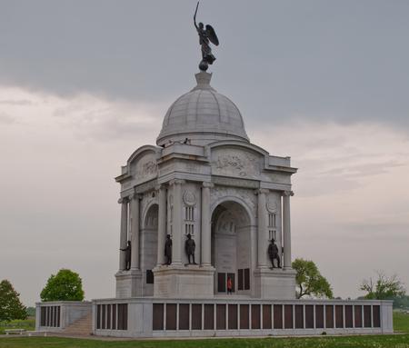 GETTYSBURG, PENNSYLVANIA 5-15-2018 The Pennsylvania Monument