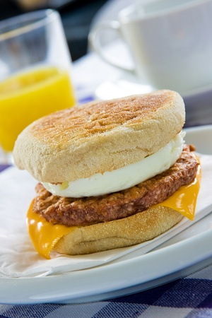 Sausage Egg Muffin photo