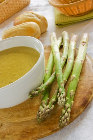 Asparagus Soup Stock Photo - 11790409