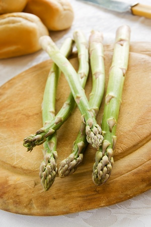 Asparagus Spears Stock Photo
