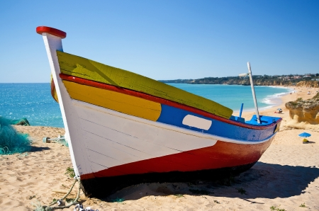 bow of boat: Fishing Boat